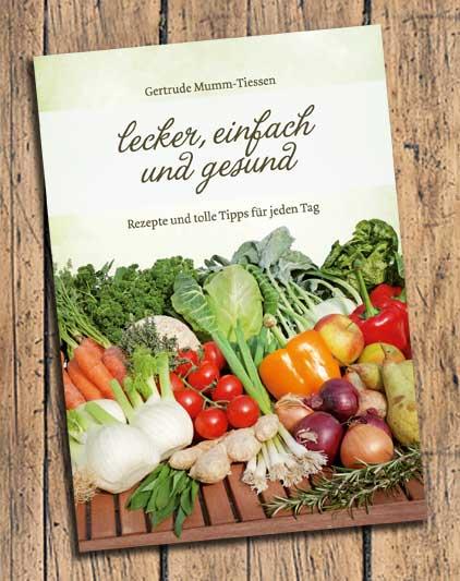 Kochbuch Gertrude Mumm-Tiessen, Titel